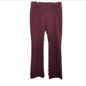 The Limited Collection Maroon Women's Cassidy Fit
